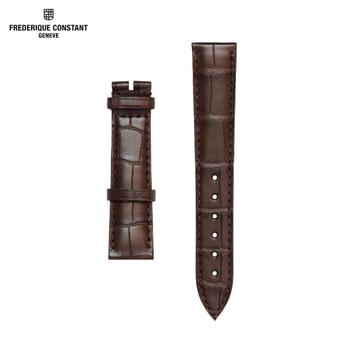 Hình Đồng hồ brown leather strap for FC-703V3S4