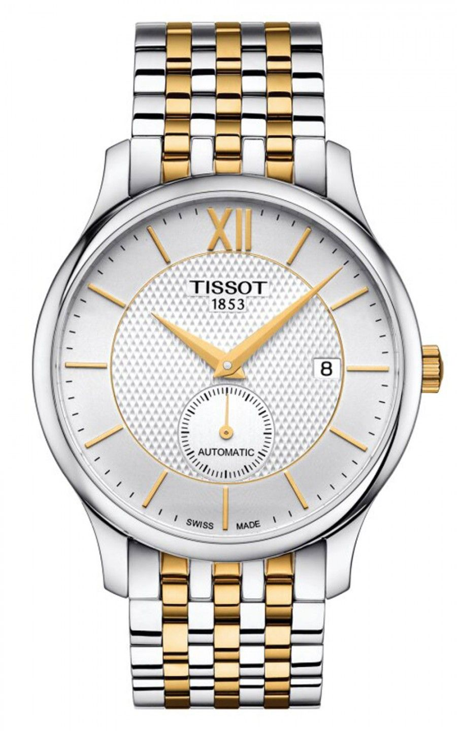 Hình Đồng hồ Tissot Tradition Automatic Small Second, 40mm T0634282203800