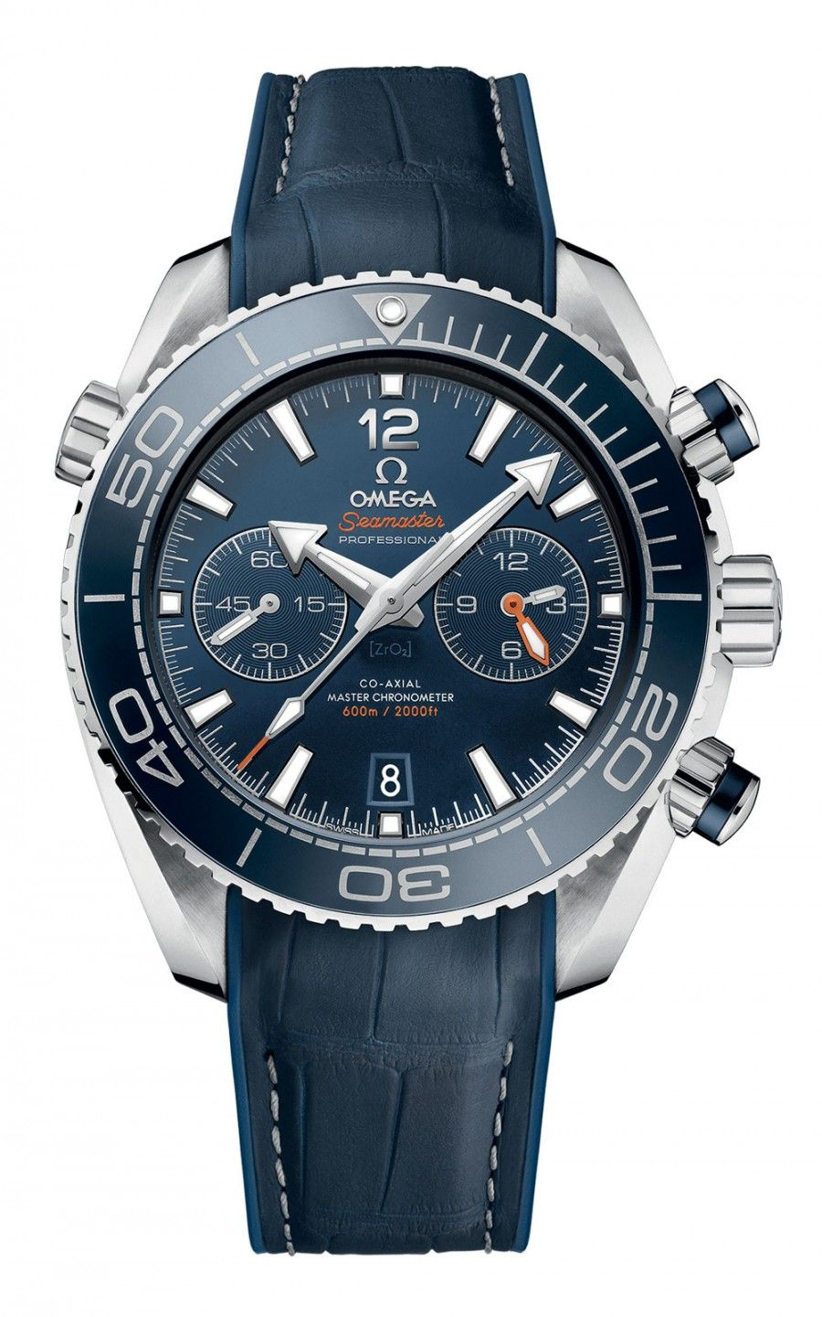 Hình Đồng hồ Seamaster Planet Ocean 600m Co-Axial Master Chronometer Chronograph 45.5 mm 215.33.46.51.03.001