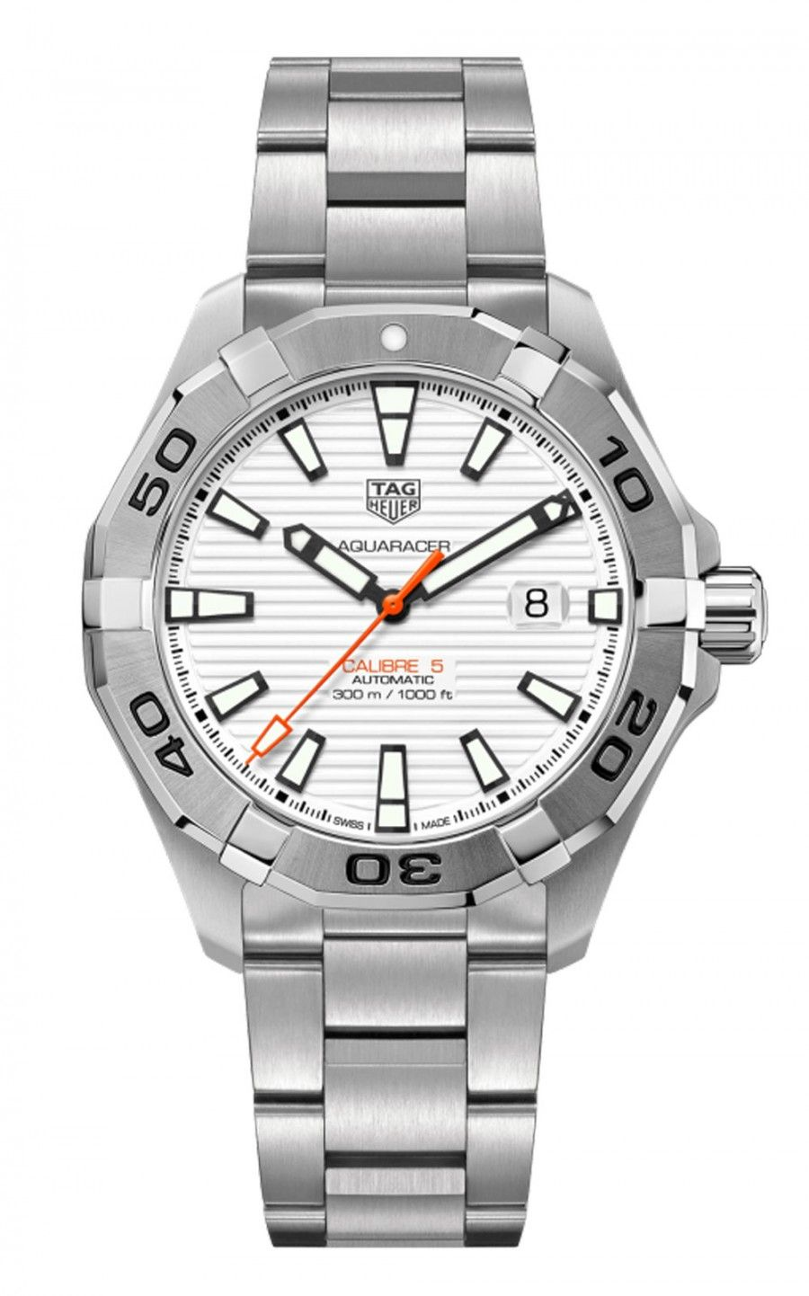 Hình Đồng hồ TAG HEUER AQUARACER - Automatic Watch - Diameter 43 mm WAY2013.BA0927