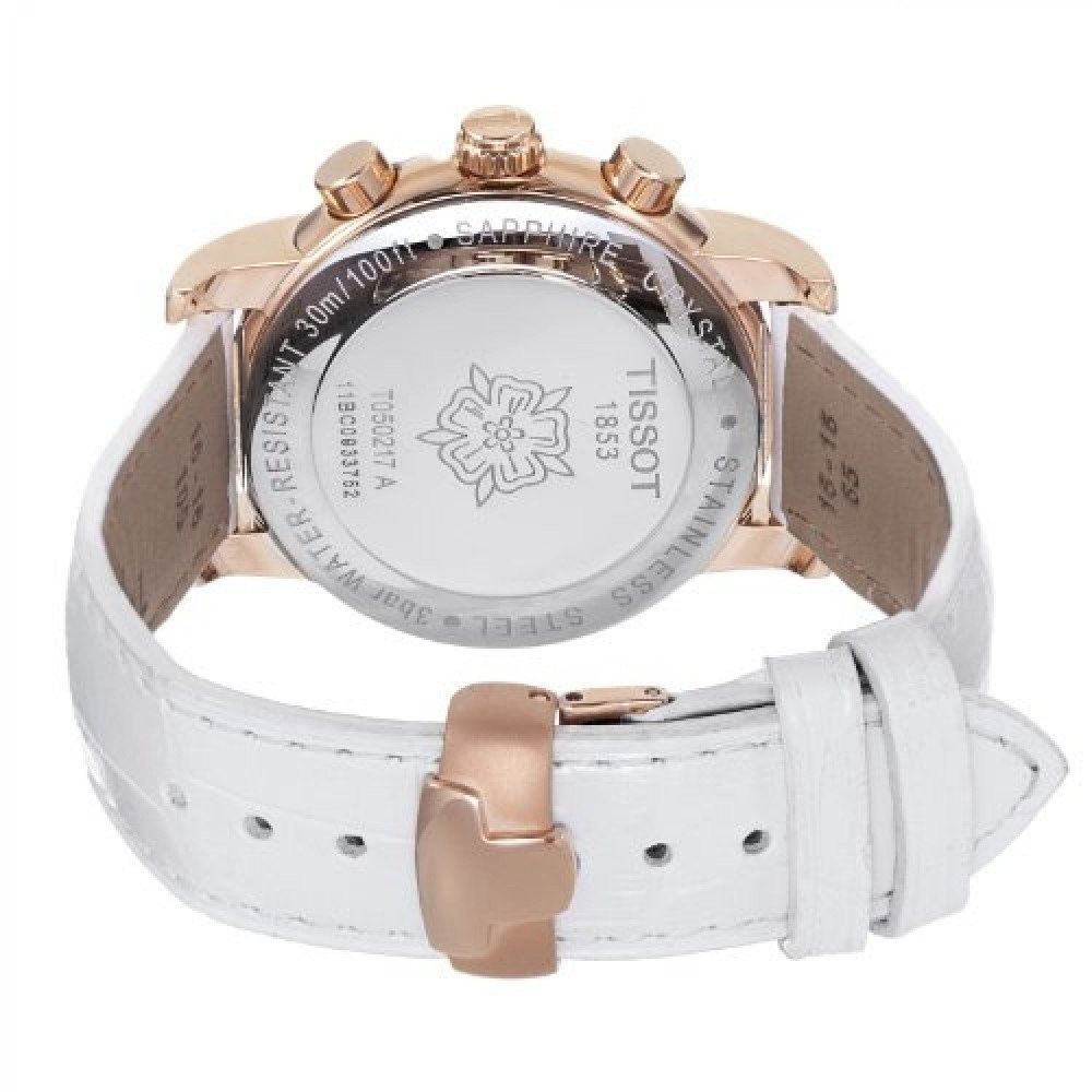 Hình Đồng hồ Tissot Strap Chrono Lady, strap for T0502173611200 Strap of T0502173611200