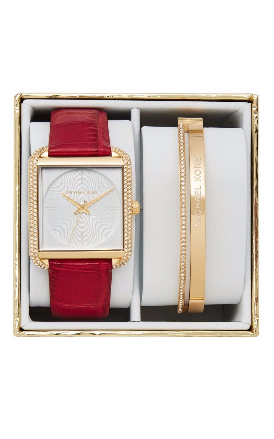 Hình Đồng hồ Michael Kors Lake Gift Box Set Watch, 32mm MK3829