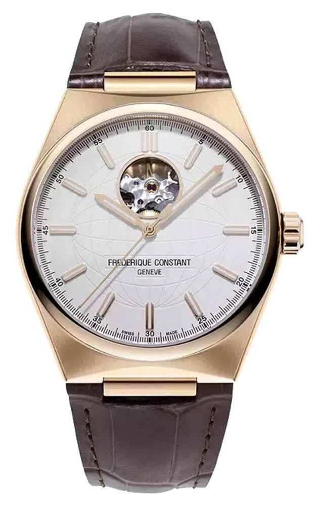 Hình Đồng hồ Frederique Highlife Heart beat , 41mm FC-310V4NH4