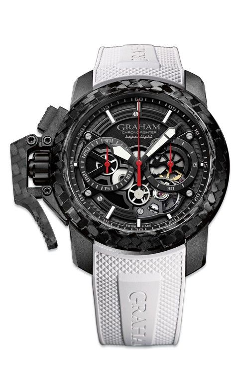 Hình Đồng hồ Graham Chronofighter Superlight Carbon Skeleton, 47mm 2CCBK.B25A.K102K