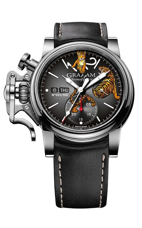 Hình Đồng hồ Graham Chronofighter Vintage Special Series, 44mm 2CVAS.B31A