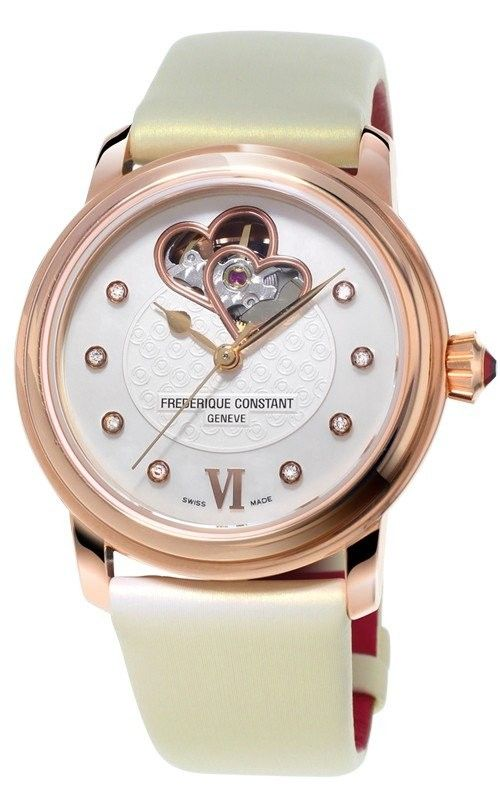 Hình Đồng hồ Heart Beat World Heart Federation Ladies Automatic Watch 34mm FC-310WHF2P4