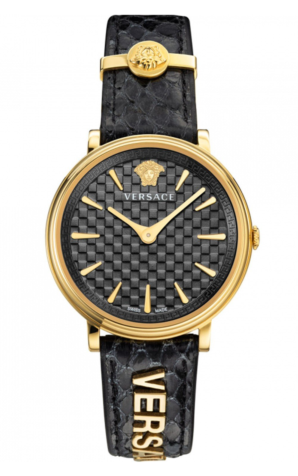 Hình Đồng hồ Versace V-Circle Logomania Edition Watch, 38mm VE8101019