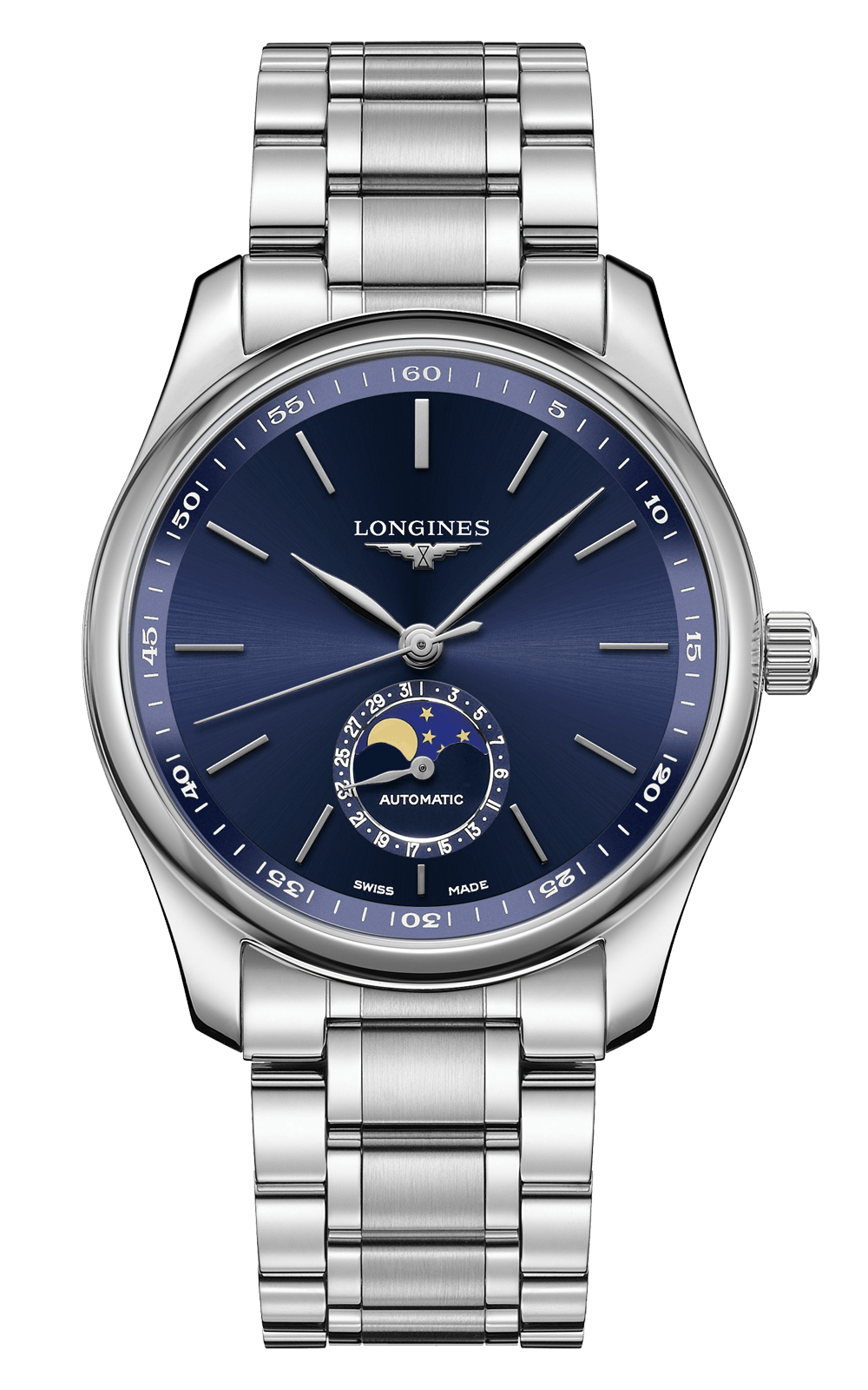 Hình Đồng hồ The Longines Master Moonphase Collection Blue Dial Automatic 40mm L29094926