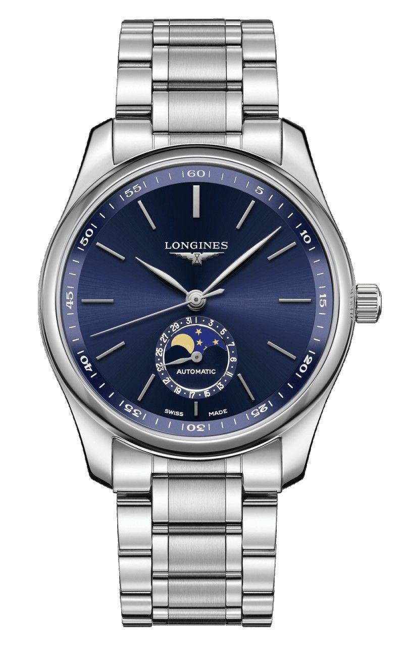 Hình Đồng hồ The Longines Master 40mm Collection Blue Dial Moonphase Automatic L29094926