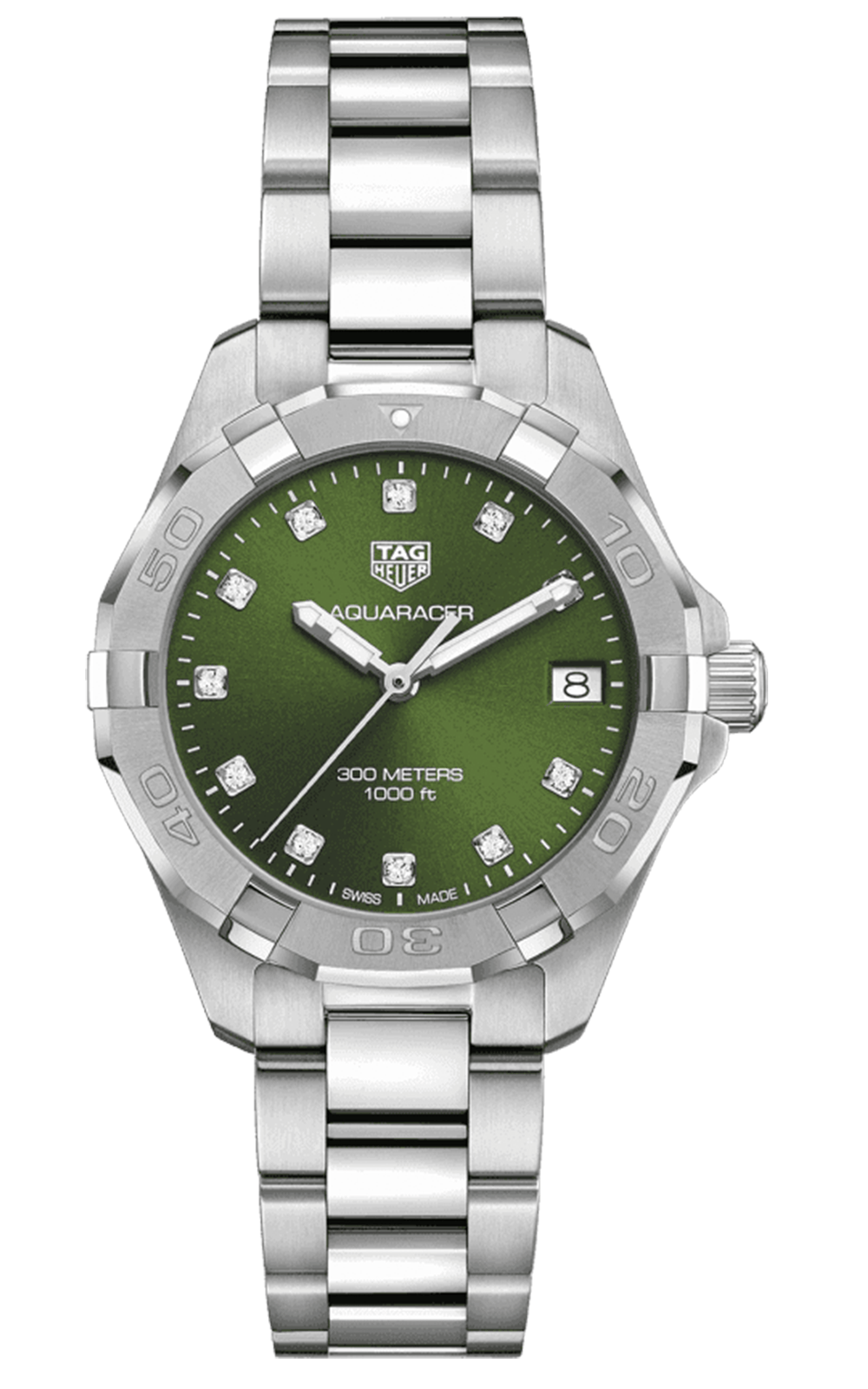 Hình Đồng hồ TAG HEUER AQUARACER - Quartz Watch - Diameter 32 mm WBD1316.BA0740