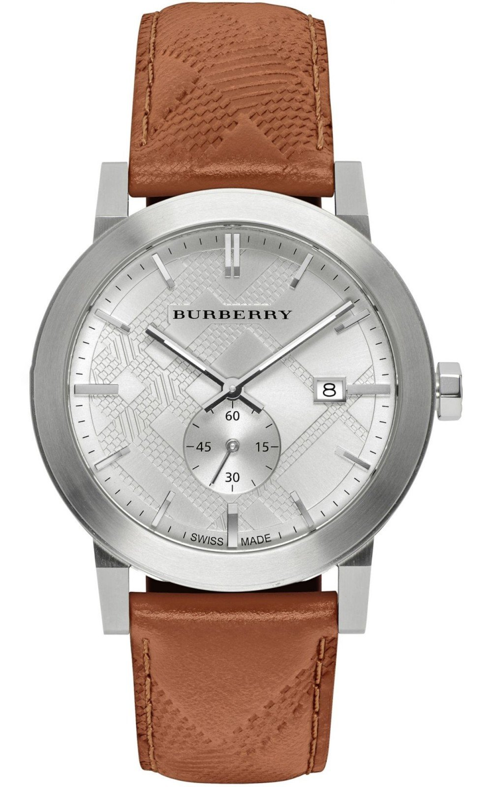 Hình Đồng hồ The City Brown Leather, 42mm BU9904