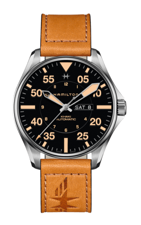 Hình Đồng hồ Hamilton Khaki Aviation Pilot Day Date Auto Watch, 46mm H64725531