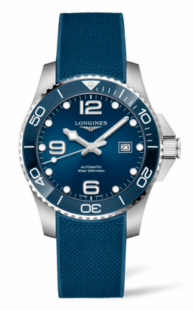 Hình Đồng hồ HydroConquest 43mm Blue Dial and ceramic Automatic Diving Watch L37824969