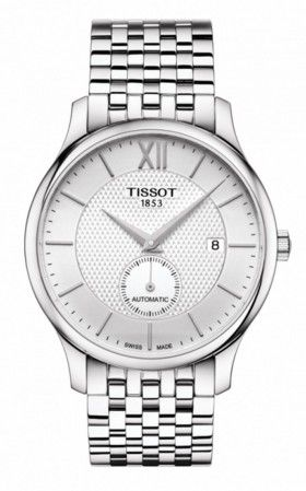 Hình Đồng hồ Tissot Tradition Automatic Small Second, 40mm T0634281103800