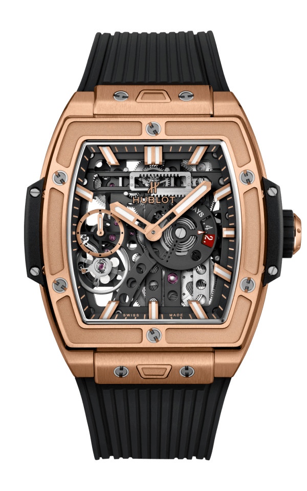 Hình Đồng hồ Spirit of Big Bang Meca-10 King Gold 45mm 614.OX.1180.RX