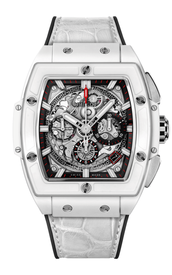 Hình Đồng hồ Spirit of Big Bang White Ceramic 42mm 641.HX.0173.LR