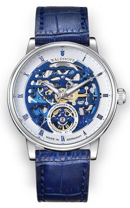 Hình Đồng hồ Manufaktur-waldhoff The Capital Royal Blue, 44mm 06B