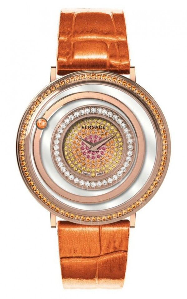 Hình Đồng hồ VENUS DIAMOND LEATHER WATCH 39mm vfh090013