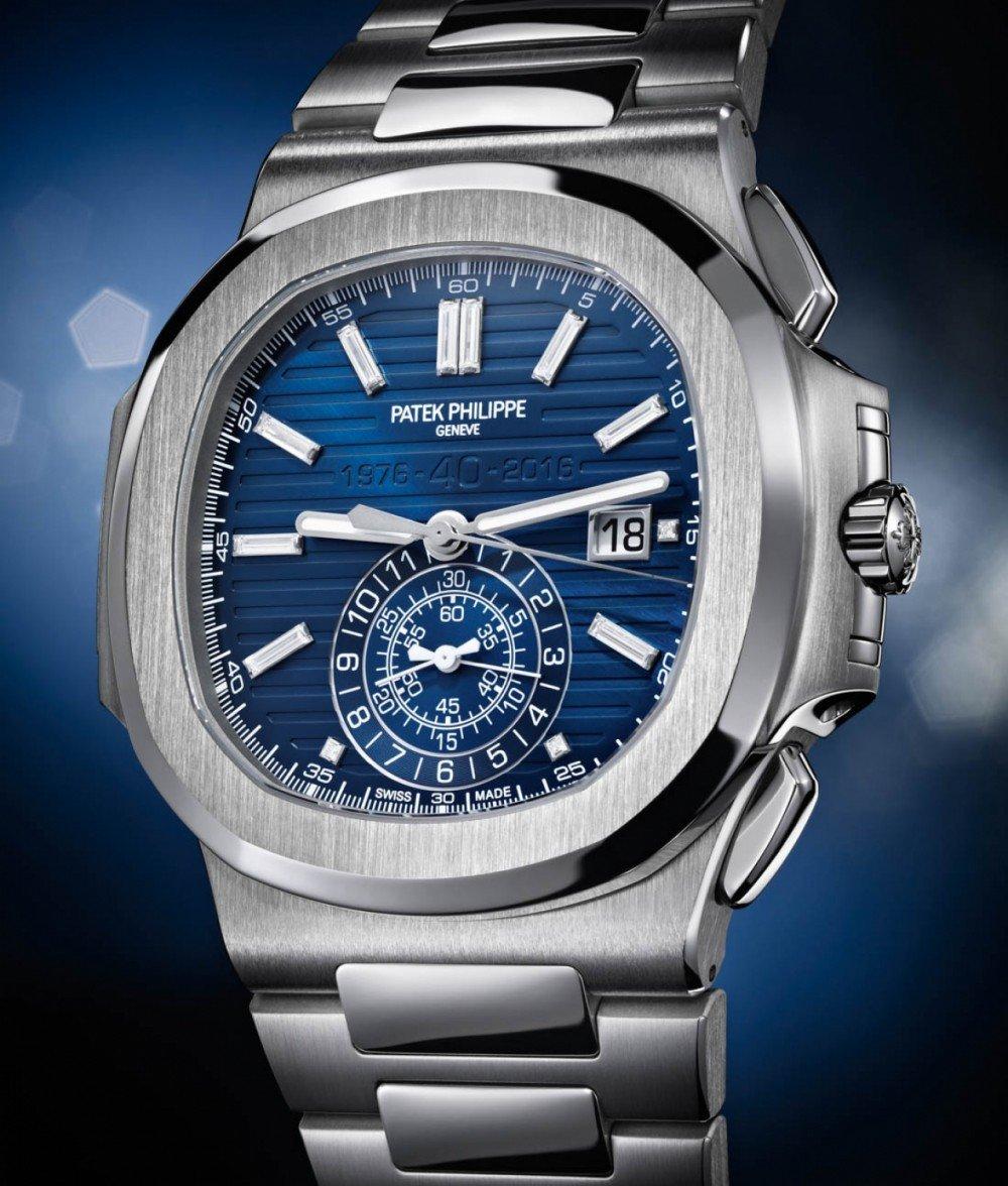 Đồng hồ Patek Philippe Nautilus 40th Anniversary 5976/1G 18k White Gold  Watch, 44mm 5976/1G ✅ likewatch.com